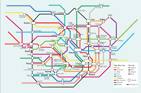 New Jersey Subway Map by Top Ten Underground Transit Systems Travel Article At Expatify
