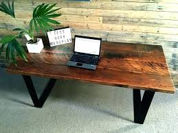Small Wood Desk Industrial Style Desk Industrial Style Chair Industrial Style Desk