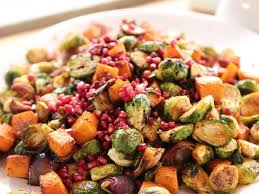 roasted potatoes carrots parsnips and brussels sprouts recipe