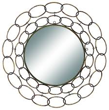 Home Decorating Mirrors by Metal Mirror Wall Decor 35