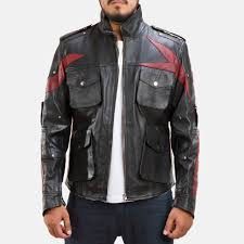 leather jacket halloween costume men u0027s cosplay halloween costumes u0026 jackets in real leather