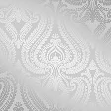 silver metallic wallpaper amazon co uk