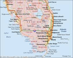 florida towns map maps of southern florida another leading source of mapping
