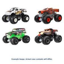 wheel monster jam trucks wheels monster jam 1 24 scale 2017 wave 3 case entertainment earth