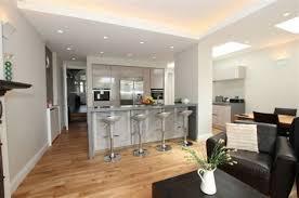 photo salon cuisine ouverte cuisines ouvertes sur salon 7 r233tro chic la cuisine ouverte