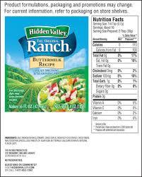 hidden valley buttermilk recipe salad dressing u0026 seasoning mix