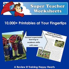 training happy hearts super teacher worksheets for the win