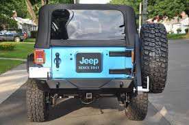 jeep wrangler brake light cover what did you use to fill the holes in your rear gate after removing