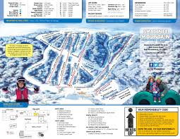 Wisconsin Snowmobile Trail Map by The Mountain Shawnee Mountain Ski Area
