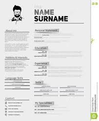 free minimal resume psd template free resume template google docs sle point 12 free minimalist