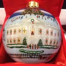 White House Christmas Ornament - ornaments