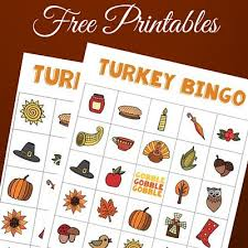 thanksgiving bingo homeroom