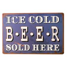 posters drinks promotion shop for promotional posters drinks on ice cold beer sold here tin poster sign retro drink board chill beverage for home bar music party for art decor lj7 1 20x30cm a1