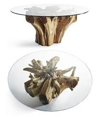 teak root dining table base majestic teak root dining table the green head