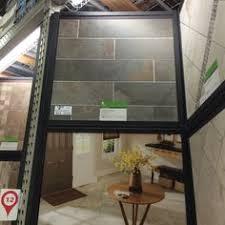 Lowes Kitchen Floor Tile by Shop Style Selections Ivetta Black Slate Glazed Porcelain Indoor