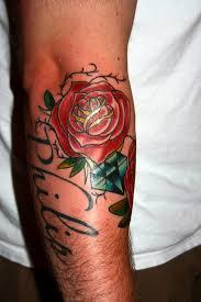 de tatuajes de rosas tatuajes de rosas con espinas vix