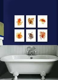 home interior figurines octopus bathroom accessories and octopus home