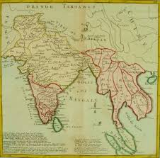 Map Southeast Asia by Antique Map India U0026 Southeast Asia 1767