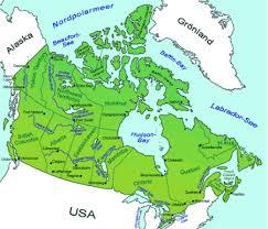kanada fläche landkarten amerika landkarte kanada goruma