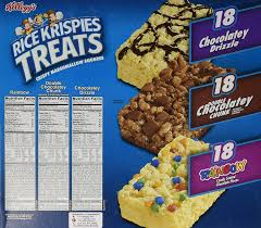 Halloween Usa Battle Creek Mi Amazon Com Kellogg U0027s Rice Krispies Treats Variety Pack 54 Ct