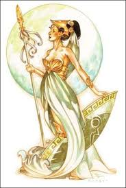athena the greek goddess of wisdom and war me in a nut shell