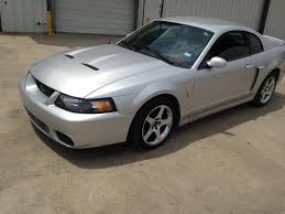 Silver Mustang Black Wheels 2004 Mustang Cobra Silver Black Interior Chrome Wheels 13k Dallas