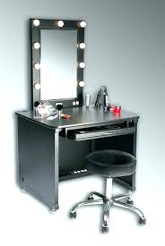 Bedroom Makeup Vanity With Lights Charming Vanities For Bedroom With Lights Modern Makeup Vanity