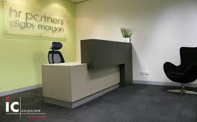 custom made reception desk stylish reception furniture at affordable prices ic corporate