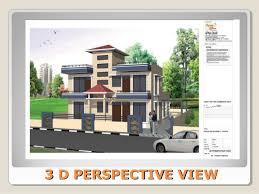 Floor Plan And Perspective House Design Home Plan Floor Plan Indian Building Design