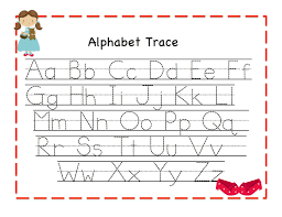 worksheet alphabet letters to trace wosenly free worksheet