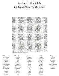 printable books of the bible bible word search puzzles sunday