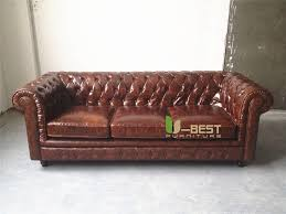 Chesterfield Sofa Antique U Best Brown Leather Vintage Chesterfield Sofa Antique 60s 70s
