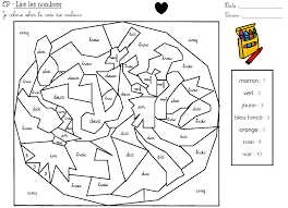 100 les nombres en lettres cp coloriages pour apprendre les