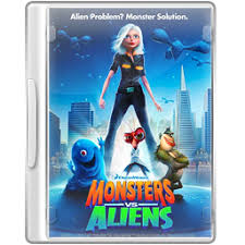 monsters aliens icon movie dvd cases iconset vitorjapah