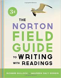 the norton field guide to the norton field guide to writing with readings third edition
