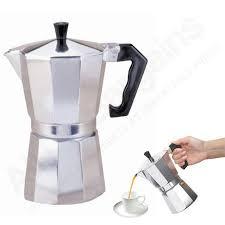 Coffee Pot stove top espresso cuban coffee maker pot cappuccino latte 3 cup