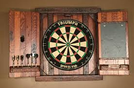 Made To Order Cabinets Rustic Dartboard Cabinet W Chalkboard Made To Order