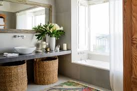 bathroom cabinet with built in laundry her a journalist s instagram famous home in buenos aires master