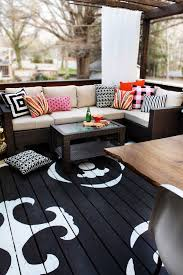 Painted Rug Stencils Best 25 Painted Deck Floors Ideas On Pinterest Painted Porch