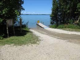 Michigan Dnr Lake Maps by Elk Lake Rd Dnr Water Access Michigan Water Trails