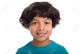 boys hairstyles mixed raced cute casual mixed race afro caribbean boy standing isolated in