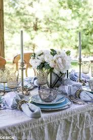 seaside decor setting a summer table with coastal dinnerware