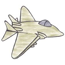 printable airforce fighter jet coloring page for boys