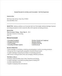 printable accountant resume templates 28 free word pdf