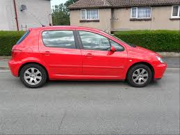 peugeot red car picker red peugeot 307