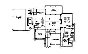Tudor Floor Plan Danton Luxury Home Plan 111s 0005 House Plans And More