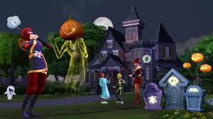 the sims 4 spooky stuff for pc mac origin