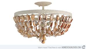 shell ceiling light 15 seashell ceiling lights to illuminate your space with