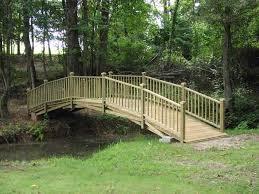 wooden bridge plans 4 27 foot a very versatile and scaleable bridge design for spans up