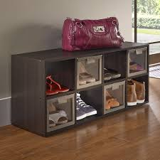 Shoe Rack by Closetmaid 8 Compartment 16 Pair Shoe Rack Reviews Wayfair